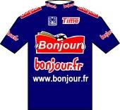 Bonjour 2001 shirt