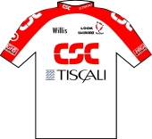 Team CSC - Tiscali 2001 shirt
