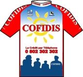 Cofidis 2001 shirt