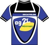 Ag2r - Décathlon 2001 shirt
