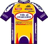 Ville de Charleroi - New Systems 2001 shirt
