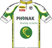 Phonak 2001 shirt