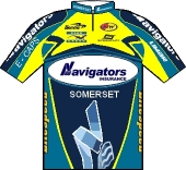Navigators Cycling Team 2001 shirt