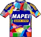 Mapei - Quick Step 2002 shirt