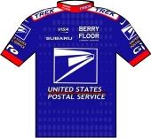 US Postal Service p/b Berry Floor 2003 shirt