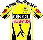 O.N.C.E. - Eroski 2003 shirt