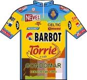 Barbot - Torrié Cafés 2003 shirt
