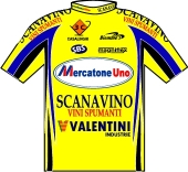 Mercatone Uno - Scanavino 2003 shirt
