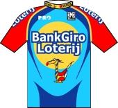 Bankgiroloterij Cycling Team 2003 shirt