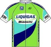 Liquigas - Bianchi 2005 shirt