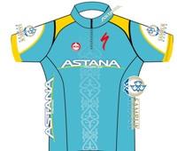 Continental Team Astana 2014 shirt