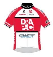 Drapac Professional Cycling 2014 shirt