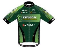Team Europcar 2014 shirt