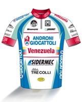 Androni Giocattoli - Venezuela 2014 shirt