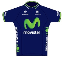 Movistar Team 2014 shirt