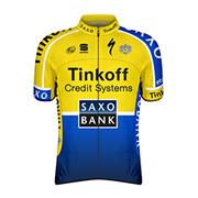 Tinkoff - Saxo 2014 shirt