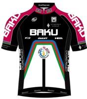 Synergy Baku Cycling Project 2014 shirt