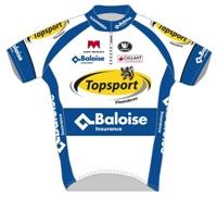 Topsport Vlaanderen - Baloise 2014 shirt