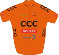 CCC Polsat Polkowice 2014 shirt