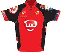 LBC - MVP Sports Foundation Cycling Team 2014 shirt