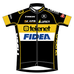 Telenet - Fidea Cycling Team 2016 shirt