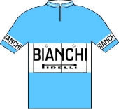 Bianchi - Pirelli 1958 shirt