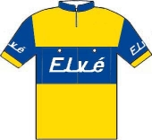Elvé - Peugeot - Marvan 1958 shirt