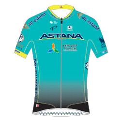 Astana Pro Team 2017 shirt