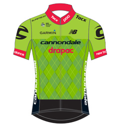 Cannondale Drapac Professional Cycling Team 2017 shirt
