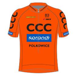 CCC Sprandi Polkowice 2017 shirt