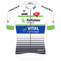 Fortuneo - Vital Concept 2017 shirt