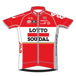 Lotto - Soudal 2017 shirt