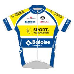 Sport Vlaanderen - Baloise 2017 shirt