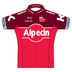 Team Katusha Alpecin 2017 shirt