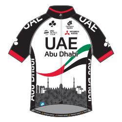 UAE Team Emirates 2017 shirt