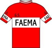 Faema - Guerra - Clément 1958 shirt