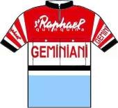 Saint Raphaël - R. Geminiani - Dunlop 1958 shirt