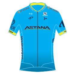 Astana Pro Team 2018 shirt