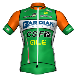 Bardiani CSF 2018 shirt
