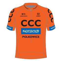 CCC Sprandi Polkowice 2018 shirt