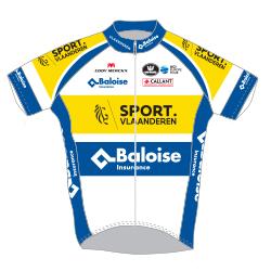 Sport Vlaanderen - Baloise 2018 shirt