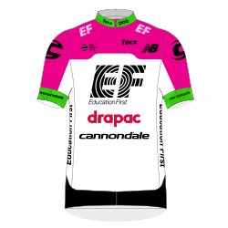 Team EF Education First - Drapac p/b Cannondale 2018 shirt