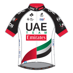UAE Team Emirates 2018 shirt
