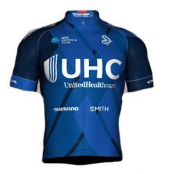 UnitedHealthcare Professional Cycling Team 2018 shirt