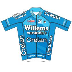 Veranda's Willems - Crelan 2018 shirt