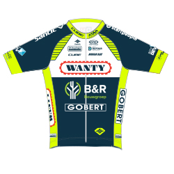 Wanty - Groupe Gobert 2018 shirt