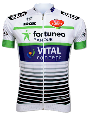 Team Fortuneo - Samsic 2018 shirt