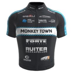 Monkey Town Continental Team 2018 shirt