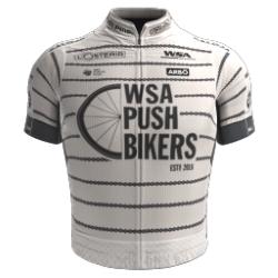WSA Pushbikers 2018 shirt