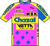 Chazal - Vetta - MBK 1993 shirt